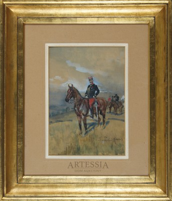 Portret konny hrabiego Foucauld