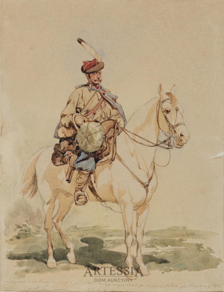 Trębacz 13 pułku ułanów galicyjskich