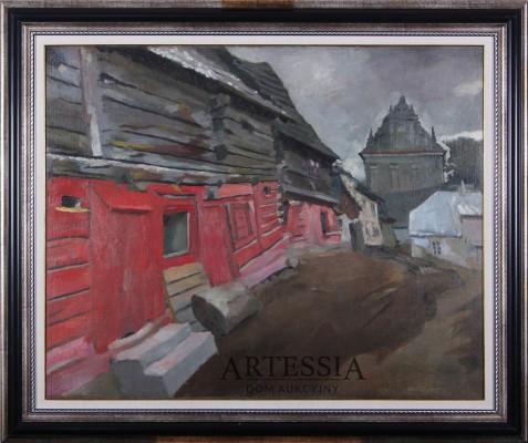 Kazimierz Dolny nad Wisłą - Stare jatki na Małym Rynku