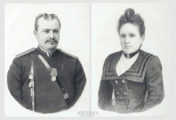 Para portretów