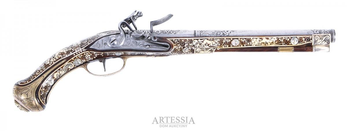 Pistolet skałkowy