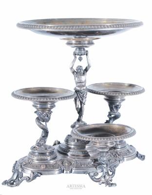 Patera na środek stołu neorenesansowa