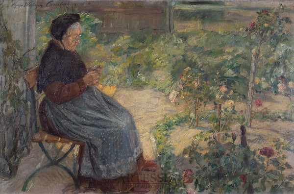Odpoczynek w ogrodzie