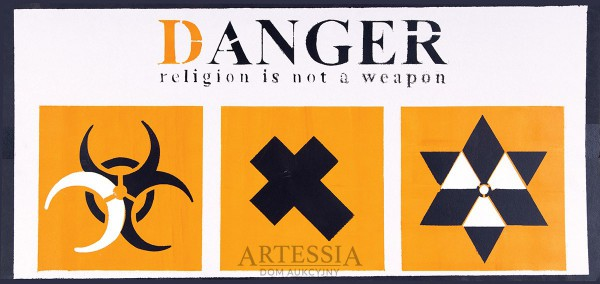 Danger, religion is not a weapon